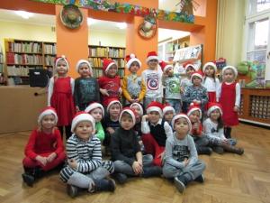 Mikołajki w Miejskiej Bibliotece Publicznej w Radomsku