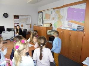 Przedszkolaki w Urzędzie Miasta
