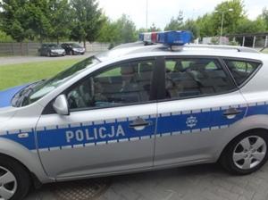 Wycieczka do komendy powiatowej policji w Radomsku - grupa IV - 2015
