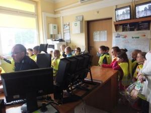 Wycieczka Do komendy Powiatowej Policji w Radomsku